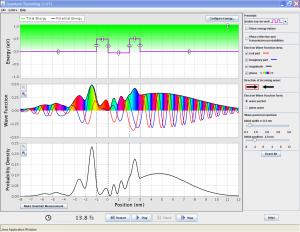 PhET Quantum Tunneling and Wave Packets - Quantum Mechanics, Wave