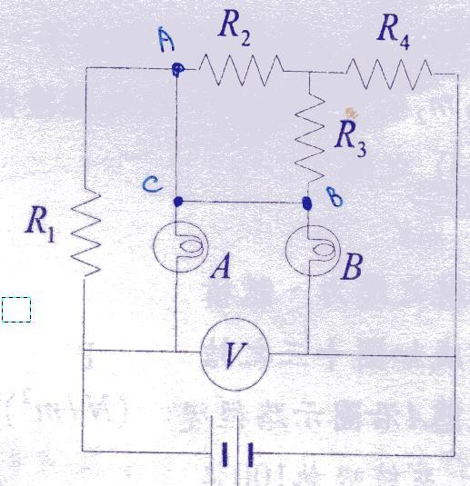 高中物理考题:电路问题